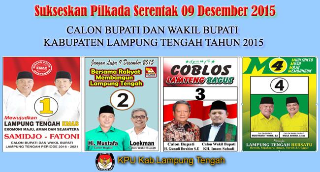 Calon Bupati Lampung Tengah