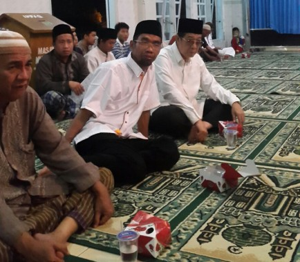 Abdul Hakim Hadiri Pengajian Puput Melati di Masjid Nur Hidayah Kota Metro Lampung