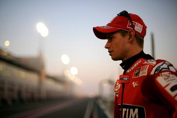 Casey Stoner Didekati Ducati MotoGP