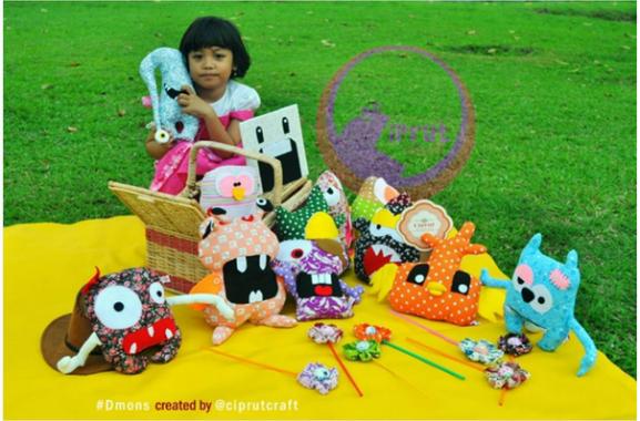 Ciprut Craft Bandar Lampung Tembus Pasar Nasional
