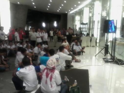 Suasana lobi Hotel Novotel Bandar Lampung |Sigit/jejamo.com