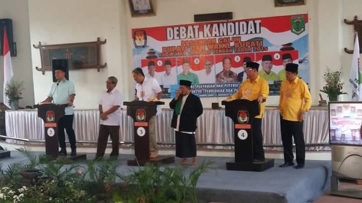 Sibuk Benahi DPT, KPU Lampung Tengah Tunda Jadwal Debat Kandidat