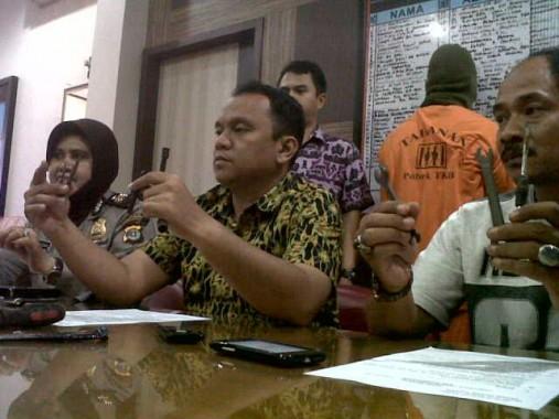 Poresta Bandar Lampung Tangkap Pelaku Curanmor dengan 20 TKP