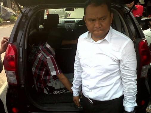Kasat Reskrim Polresta Bandar Lampung Dery dalam ekspose, Senin, 2/11/2015 | Andi/jejamo.com