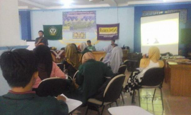 Aktivis Pers Mahasiswa IAIN Raden Intan Ikuti Diklat Jurnalistik