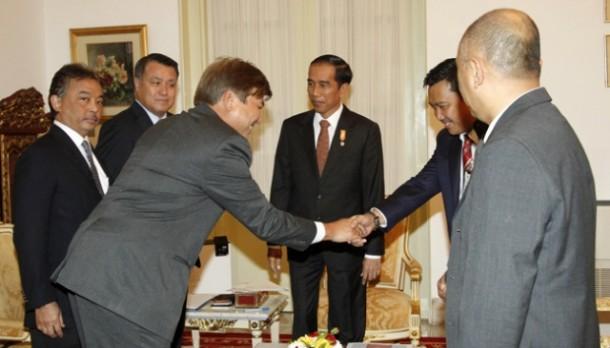 Ini Hasil Pertemuan Delegasi FIFA dengan Presiden Joko Widodo Menurut Menpora