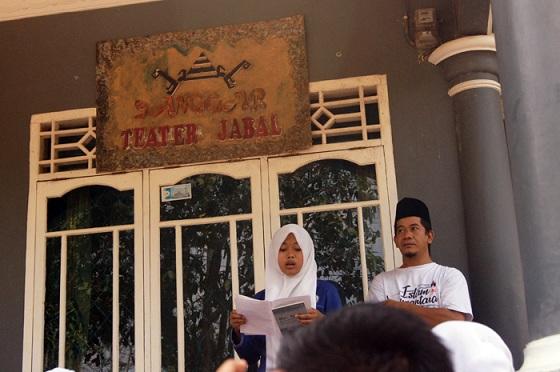 Ketua PC Anshor Way Kanan Lampung: Lawan Radikalisme Lewat Tulisan