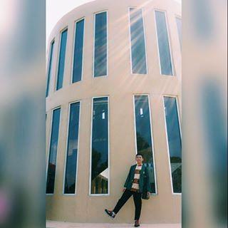 Salah satu gedung favorit mahasiswa IAIN Raden Intan Lampung untuk selfie. | Mentari/Jejamo.com