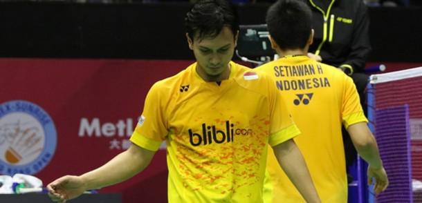Hendra-Ahsan Kalah di Semifinal Hongkong Open