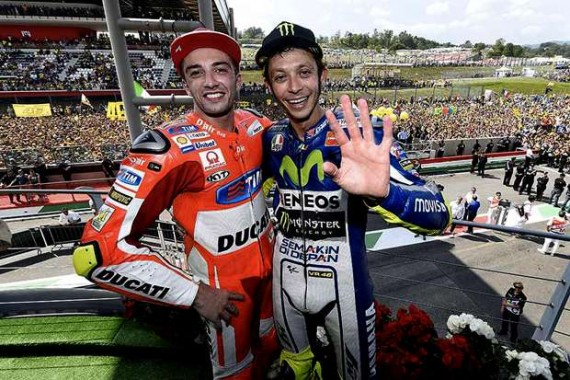 Iannone dan Rossi | crash
