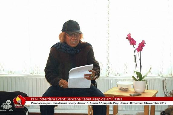 Catatan Sastrawan Lampung Isbedy Stiawan ZS dari Belanda (1)