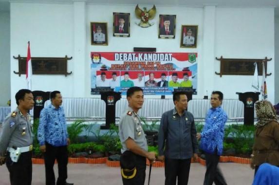 Debat Kandidat Pilkada Lampung Tengah Dijaga 151 Polisi