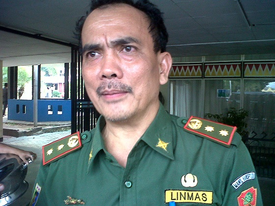 Kepala BPBD Provinsi Lampung, Sobirin. | Widya/Jejamo.com