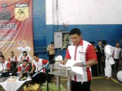 Ketua Forki Bandar Lampung Wiyadi. | Sugiono/Jejamo.com