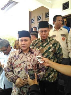 Ketua MPR Zulkifli Hasan di Nuwo Balak Lampung Tengah, Minggu, 1/11/2015. | Raeza Handani/Jejamo.com