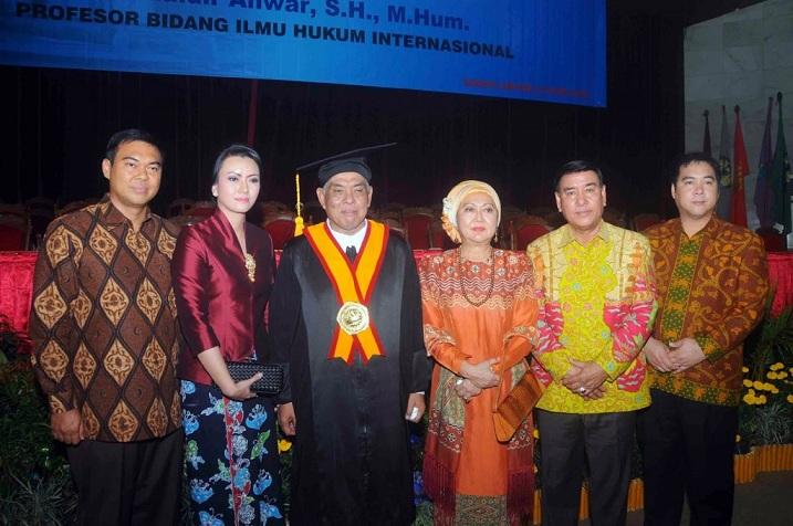 Breaking News: Dr. Khaidir Anwar ZP, Adik Bungsu Eks Gubernur Lampung Sjachroedin ZP Wafat