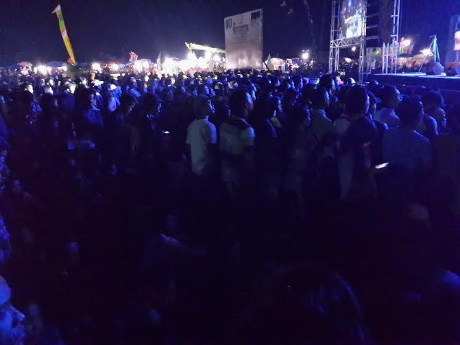 Konser Setia Band Molor, Penonton di Pringsewu Soraki Pembawa Acara