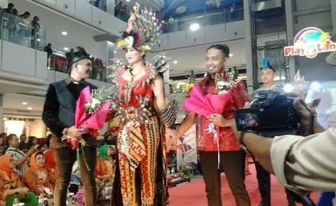 ampung Fashion Week Festival 2015 yang digelar di Mall Boemi Kedaton, Bandar Lampung, Jumat, 6/11/2015 | Desi/jejamo.com