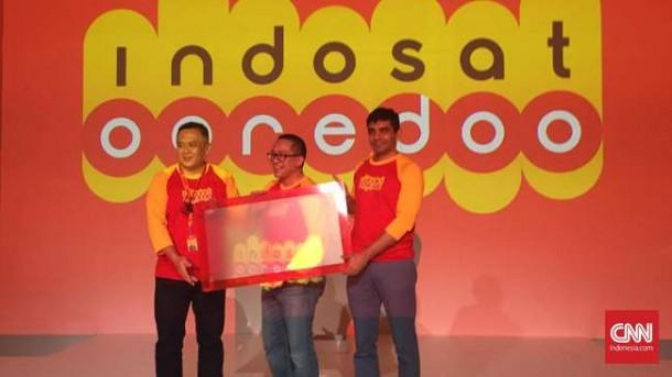 Logo Baru Indosat