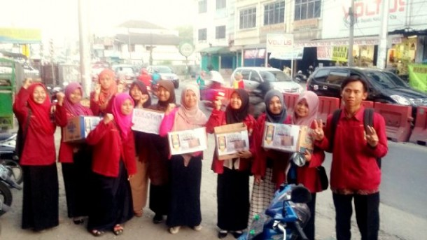 IMM STKIP Muhammadiyah Pringsewu Lampung Galang Dana Kabut Asap