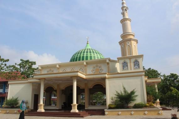 Masjid Ushuludin IAIN Raden Intan Lampung, Unik tanpa Kaca dan Dinding