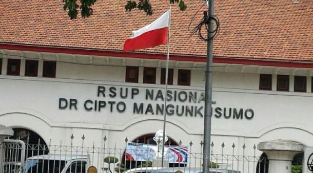 Heboh Bendera Merah Putih Berkibar Terbalik di RSCM