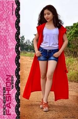 Ludfi Rahma, Model Mungil Cantik Asal SMPN 10 Bandar Lampung