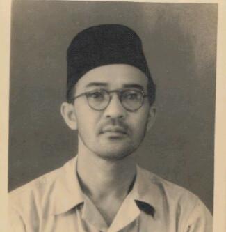 Mantan Residen Lampung Mr Gele Harun. | Ist