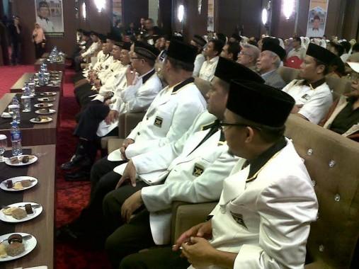 Peserta Musda IV PKS Bandar Lampung di Hotel Horison, Minggu malam, 1/112015. | Widyaningrum/jejamo.com
