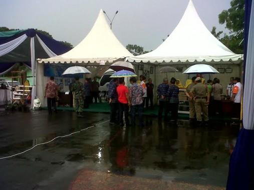 Diguyur Hujan PID di Lapangan Saburai Berlangsung Meriah