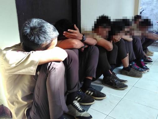 Pelajar Asal Natar Ini Mengaku Hanya Ikut-Ikutan Serang Sekolah di Bandar Lampung