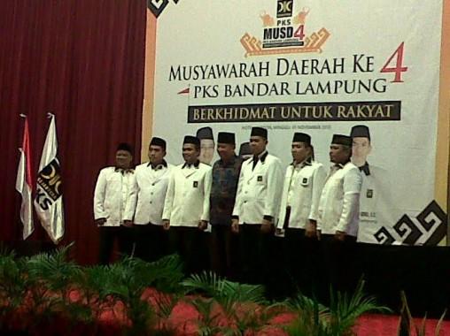 Inilah 5 Pengurus Inti DPD PKS Bandar Lampung Hasil Musda IV