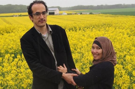 Rosita Sihombing dan suaminya, Patrick Monlouis. | Ist