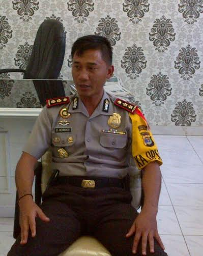 Kapolres Lampung Tengah Ajun Komisaris Besar Dono Sembodo | Raeza/jejamo.com
