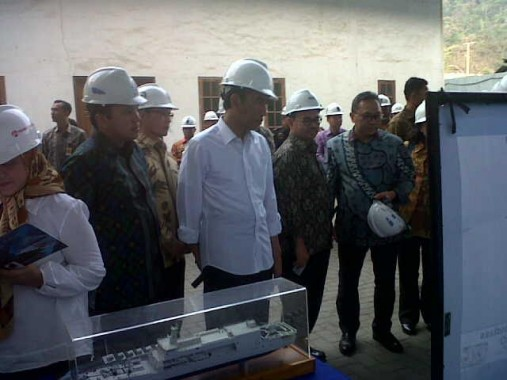 Breaking News: Presiden Jokowi Kunjungi PT DRU Panjang