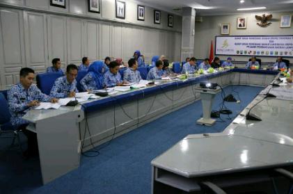 Rapat revisi Pergub tentang penyaluran pupuk bersubsidi | Sugiono/jejamo.com