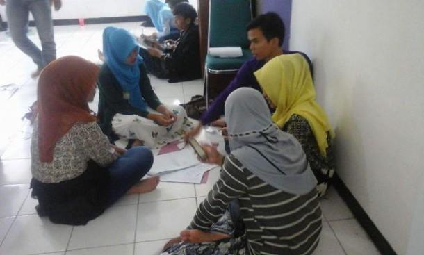 Puluhan Mahasiswa Ikuti Rekrutmen LPM IAIN Raden Intan Lampung