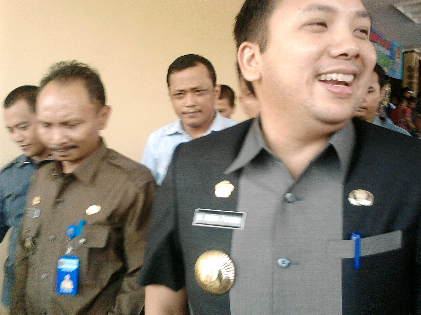 Gubernur Lampung M Ridho Ficardo (kanan) | Sugiono/jejamo.com
