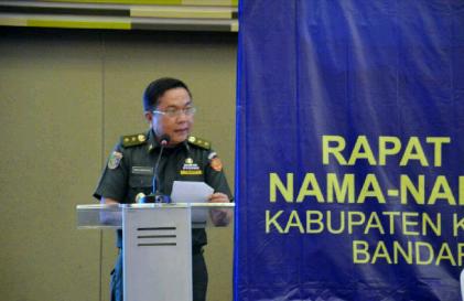 Asisten Bidang Pemerintahan Rifki Wirawan | Sugiono/jejamo.com