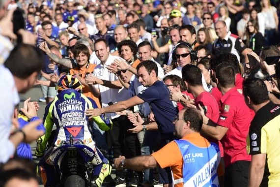 Valentino Rossi Torehkan Rekor Baru dalam Sejarah MotoGP