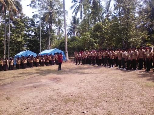 SMAN 10 Bandar Lampung Gelar Orientasi Gabungan di Lembah Hijau