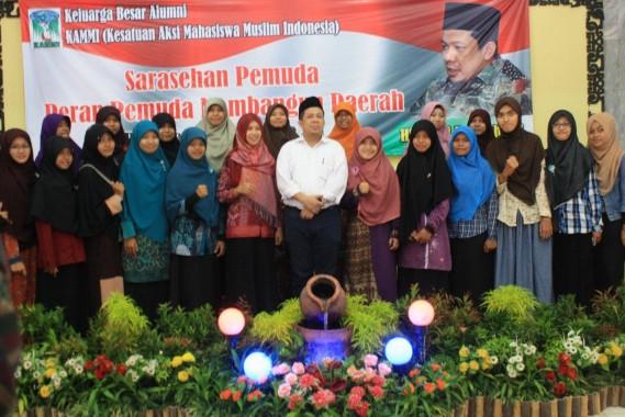 Sarasehan Alumni KAMMI di Metro, Fahri Hamzah: Dukung Pemimpin Progresif