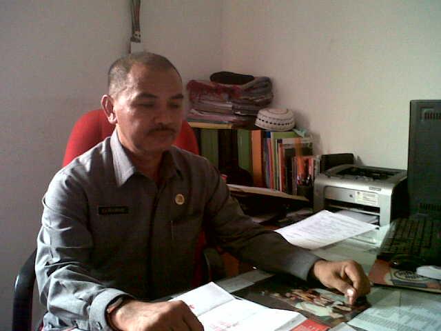Sekertaris KPU Bandar Lampung, Jainuddin. | Andi/Jejamo.com