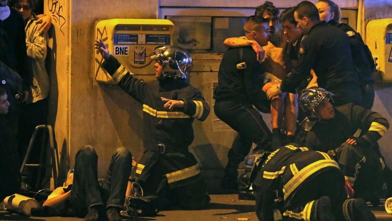 Suasana mencekam saat peristiwa teror di Prancis | Reuters