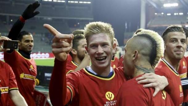 Belgia Puncaki Peringkat Dunia FIFA