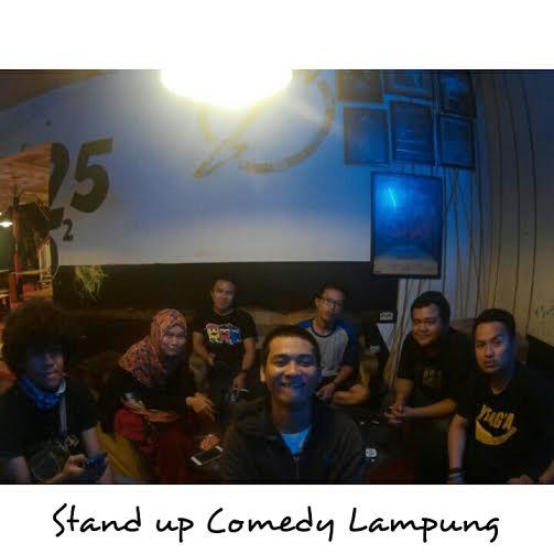 Tips jadi Komika dari Stand Up Comedy Lampung