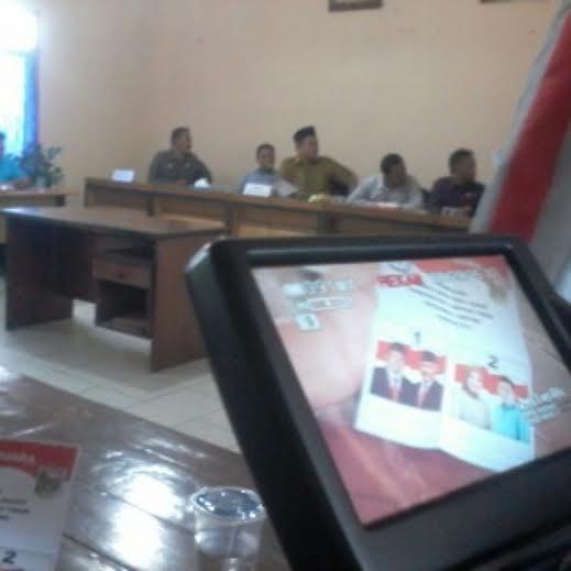 Contoh surat suara yang akan dicetak oleh KPU Lamtim | winar/jejamo.com