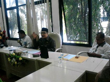 DPD II Golkar Bandar Lampung mengadakan jumpa pers, Kamis, 26/11/2015 | Sugiono/jejamo.com