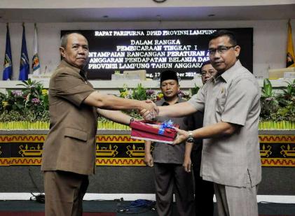 2016, Pemprov Lampung Targetkan Pendapatan Daerah Rp5 Triliun