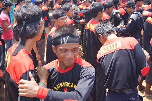 Anggota Banser Way Kanan Lampung. | Dok.
